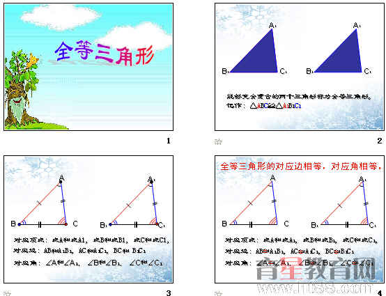 《全等三角形》ppt15