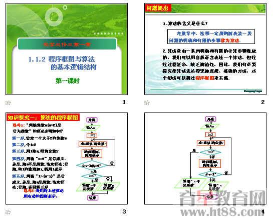 2-1程序框图与顺序结构ppt