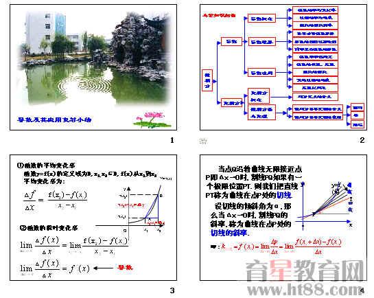 数学 1.3 导数的应用1 新人教a版选修2 2