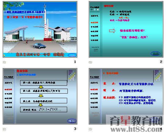 导数的概念 导数的概念ppt 导数的概念及其运算