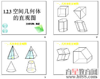 空间几何体的直观图ppt4