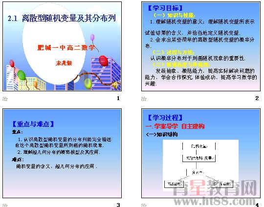 离散型随机变量及其分布列ppt