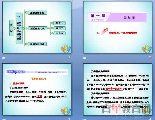 《坐标系》ppt3(打包7套)